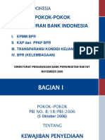 Pokok-pokok Ketentuan BPR Up Date