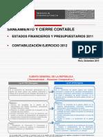 Cuenta General Del Estado 2012