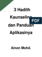 13 Hadith Kaunseling dan Panduan Aplikasinya.pdf