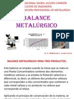 CONC. II - 14 - 2 - BALANCE METALÚRGICO.pptx