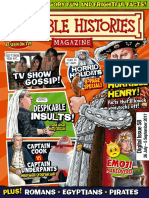 Horrible Histories Issue 58 26 July 5 September 2017