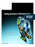 CFD 2008 Quality Assurance of CFD Calculations_BPG by Thorsten Hansen