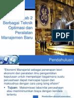 BAB 2 Berbagai Teknik Optimasi dan Peralatan Manajemen Baru.pptx