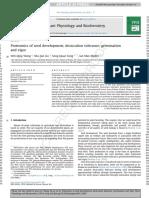 Proteomics of Seed Development, Desiccation Tolerance, Germination