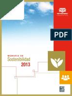 5. Memoria de Sostenibilidad - PETROPERU 2013