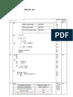 Matematik Modul Cemerlang PT3 2016 Set 2 JPPP Skema