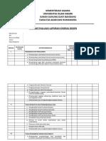 Lembar Bimbingan Dosen BKD LKD Assesor