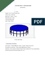Staad Pro-Circular Slab