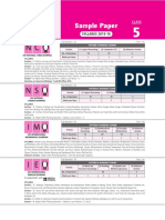 Sample Paper - Class 5