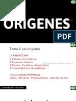 HAE Tema1 Los Origenes