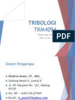 1 Prinsip Dasar Tribologi