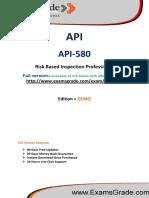 308395585 Examsgrade API 580 Exam Questions Answers