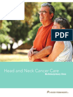 Head_Neck_Brochure - Cancer - Kaiser - Santa Clara