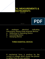 Electrical Measurements and Instruments