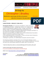 259 Geometry Writings by Christopher J. Bradley