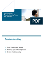 ICM Scripting Troubleshooting Tools and Methods