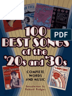 100 Best Songs of the 20s and 30s (Kották) - 1.pdf