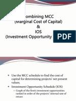 Combining MCC & IOS