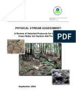 Physical Stream Assessment 0