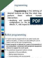 Robotics Programming