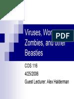 Viruses and Worm