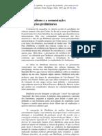 O segredredo da pirâmide - Adelmo Genro Filho - capítulo 2.- O Funcionalismo e a comunicação
