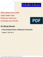 On Being Stoned - Psychological Study of Marijuana Intoxication.pdf
