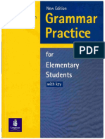 Book Grammar Practice for Elementary Students