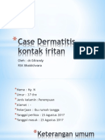 Case Dermatitis Kontak Iritan