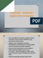 Prinsip – Prinsip Audit Investigasi