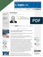 Horóscopos - Moisés Wasserman - Columnista EL TIEMPO - Opinión_ Columnistas, Blogs, Noticias y Editoriales de Colombia y El Mundo - ELTIEMPO