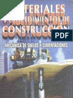 Vicente Pérez Alamá-Materiales y Procedimientos de Construcción_ Mecánica de Suelos y Cimentaciones-Trillas (1998)