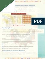 DEFINICIÓN Y PROPIEDADES DE LAS FRACCIONES ALGEBRAICAS