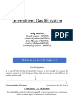 Intermittent Gas Lift System - Group 4