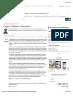 Cupos + Calidad = Educación  ELESPECTADOR.COM