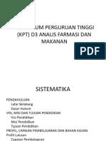 kurikulum D3 anafarma