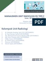 Manajemen Unit Radiologi PPT Ver 01 300917