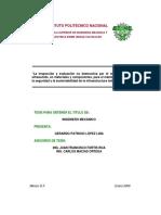 Tesis. Inspecc. y Evaluacion END por Método UT en materiales y componentes.pdf