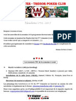 Newsletter n°32 - 2017 (1er octobre 2017)