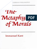 Kant, Immanuel - Metaphysics of Morals (Cambridge, 1991)