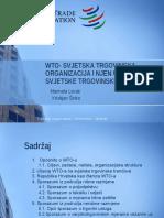 Docslide.net Wto Svjetska Trgovinska Organizacija i Njen Utjecaj Na (1)