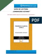 Guía Romancero Gitano de Lorca