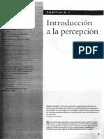Capítulo 1 - Introducción a La Percepción [Goldstein 2009 - Sensación y Percepción]