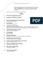 Agenda Oct 4th Meeting