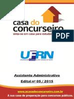 Apostila Ufrn 2015 Assistenteadministrativo 1