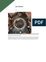 High Speed Engine Repairs