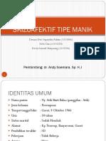 Skizoafektif CBD, BST, Mini CEX Dr Andi