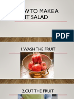 How to Make a Fruit Salad