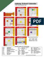 tast 17-18 sy calendar