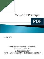 AULA4-Subsistema de Memória _RAM